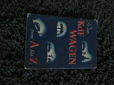 Der KdF Wagen. Handbuch KdF Wagen. VW Kübelwagen Vorkrieg Uralt