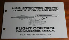 Star Trek TMP NCC-1701 Refit Enterprise Flight Operations Manual