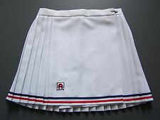 Ascot Tennis Sports Skirt Medium W28 in. White Retro Short Mini Vintage ITAx444