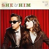 She & Him - A Very She and Him Christmas (2011) CD Zooey Deschanel New Girl