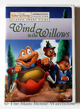 Mr. Toad's Wild Ride Ugly Duckling Silly Symphonies Classic Disney Cartoons DVD