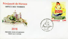 Monaco 2016 FDC Grace Kelly Movies Bridges at Toko-Ri Posters 1v Cover Stamps