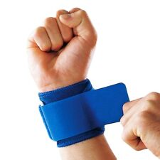 Blue Adjustable Hand Wrist Support Wrap Brace Sports Gym Arthritis Tendon Sprain