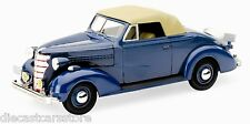 1938 CHEVROLET MASTER CONVERTIBLE BLUE 1/32 DIECAST MODEL CAR BY NEW RAY 55043