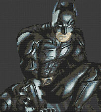 "Super-héros batman 3 Compté Cross Stitch Kit 11 ""x 12"" dessins de fil, TV / film"