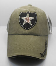 2d Infantry  U.S. Military OD Green Cotton Ball Cap Hat New H35