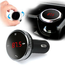 Wireless Bluetooth LCD FM Transmitter Modulator Car MP3 Player SD w/Remote DE