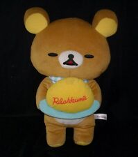 "18"" BIG 2014 SAN-X RILAKKUMA BROWN TEDDY BEAR STUFFED ANIMAL PLUSH TOY DOLL"
