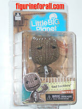 "NECA Little Big Planet SAD SACKBOY 5"" Action Figure Video Game PS3 NEW"