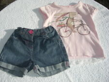 NEXT GIRLS TOP AND SHORTS OUTFIT AGE 2/3 YRS