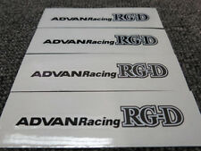 JDM Brand New 4pc Sticker Decals 17-19 inch Rims Wheels Advan Racing RGD RG-D