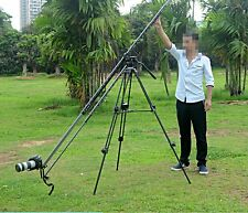 270cm Aluminum Portable Camera Retractable Crane Jib Boom Rock Arm for Video SLR