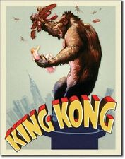 King Kong Movie Poster METAL vintage retro home theater bar decor tin sign 2109