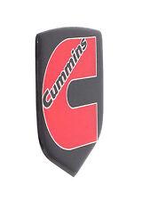 DODGE RAM CUMMINS GRILLE EMBLEM 2006-2010 Black/Red