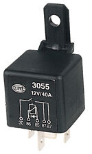 Hella Normally Open Relays Normally Open Relay with Diode - 5 Pin, 12V DC, 3055