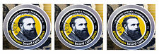 3 Prof Fuzzworthy Mens Moustache Beard Care Gloss Tash Styling Wax 100% Natural