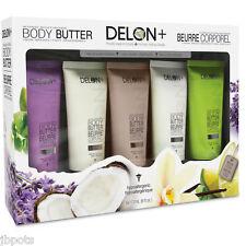 Delon Intense Moisturizing 5-piece Body Butter Gift Set 6 Ounce Tubes