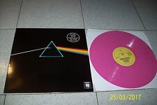 PINK FLOYD THE DARK SIDE OF THE MOON/ QUADRAPHONIC PINK VINYL! / AUSTRALIA LP 33