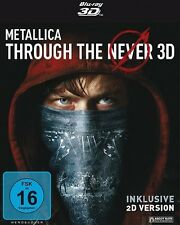 Metallica-Metallica Through The Never-BLU-RAY 3d 2 BLU-RAY NUOVO