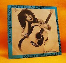 """7"""" Single Vinyl 45 Mary-Ellen Jones Bourbon & Coca Cola 2TR 1982 MINT MEGA RARE"""