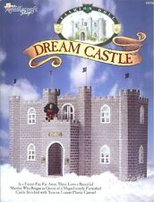 Fashion Doll Dream Castle plastic canvas patterns fit Barbie dolls OOP rare