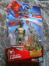 "LIZARD INVISI-SKIN ( 4"") HTF AMAZING SPIDER-MAN MOVIE ACTION FIGURE WITH CANNON"