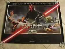 STAR WARS movie poster EPISODE 1 THE PHANTOM MENACE (UK Quad)  - 30 x 40 inches