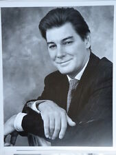 ORIGINAL BW 8x10 PHOTO TV Presenter Tim Ewart