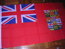 British Empire Flag Canada Red Ensign 1907 3ftX5ft GB UK EIIR QEII HM The Queen