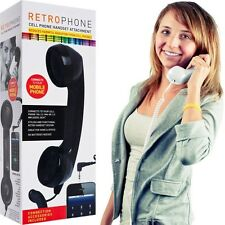 Retro Phone Cell Phone Handset - White - Send Your Phone Back to the Old Da