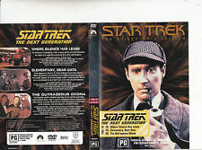 Star Trek:The Next Generation:TNG 10-1987/94-TV Series USA-3 Episodes-DVD