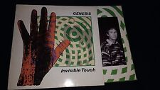 GENESIS - Invisible Touch - Vinyl LP *Inner Lyrics Sleeve**Textured Cover*