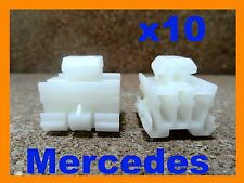 10 Mercedes Benz  door body trim Moululding Clip fasteners