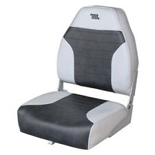 Wise Boat Seats Premium High Back Bass Boat Seat Charcoal