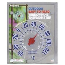 Motorhome RV & Home Outdoor Window Pane Thermometer Window Temperature Gauge