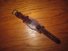 WW2 German Luftwaffe Glashutte Tutima Hanhart Chronograph Pilot Watch Strap NICE