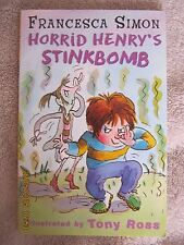 Horrid Henry's Stinkbomb by Francesca Simon (Paperback, 2002)