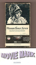 WOMAN TIMES SEVEN 1967 Magnetic Video Shirley MacLaine Peter Sellers A Arkin vhs
