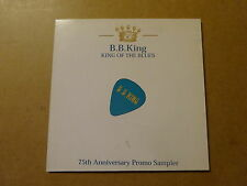 SINGLE CD / B.B. KING: KING BLUES - 75TH ANNIVERSARY PROMO SAMPLER