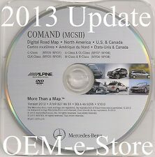 2006 2007 2008 Mercedes ML320 ML350 ML500 ML550 Navigation DVD Map V.2013 Update