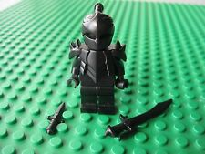 Lego Custom NINJA ASSASSIN Minifigure with Brickwarriors Spike Armor & Weapons