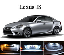 Xenon White License Plate / Tag  LED light bulbs for Lexus IS 250 350 ISF (2Pcs)
