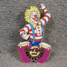 HAT PIN ~ HARD ROCK CAFE ~ COZUMEL ~ CLOWN ~ BONGO DRUMS