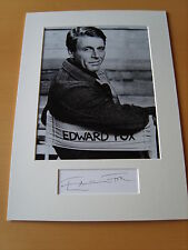 Edward Fox Genuine Autograph - UACC / AFTAL.