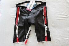 New Louis Garneau Women Tri Course Cycling Triathlon Short Medium Black NWT