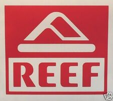 2 X SQUARE REEF Stickers/Decals- Surfing/Watersports/ Skateboarding/Bmx