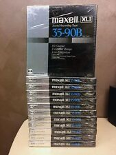 "MAXELL XLI 35-90B NEW SEALED 1/4"" REEL TO REEL TAPE JAPAN MADE"