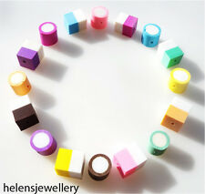 16 MIXED FIMO POLYMER DOLLY MIXTURE BEADS - QUICK SHIPMENT
