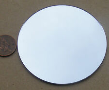 1:12 Scale Unframed Round Real Glass Mirror Dolls House Fairy Accessory