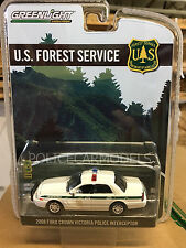 Greenlight 1/64 USFS US Forest Service Ford Crown Vic Police Car Hobby Exclusive
